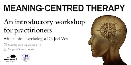 Meaning-Centred Therapy tickets