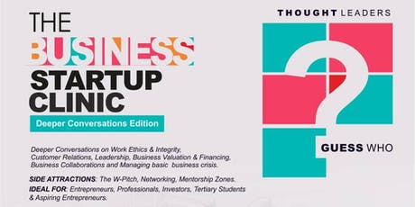 The Business Startup Clinic (50ghc Registration Fee) tickets