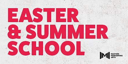 MASTERS EASTER SCHOOL TUES 14  & WED 15 APRIL 2020