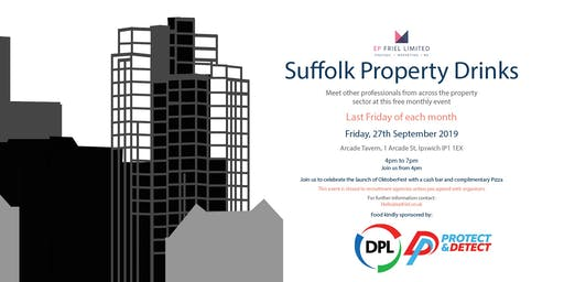 Suffolk Property Drinks - September 2019