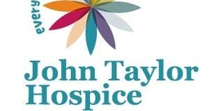 John Taylor Hospice Charity - Volunteer Opportunities | CC - Curzon 140a/c  | 15:00 - 16:00 | Monday 4th November