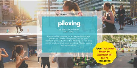 CBD Evening Outdoor Piloxing Workout tickets