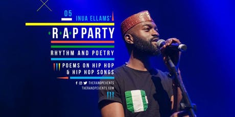 Inua Ellams R.A.P Party tickets