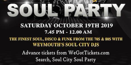 Soul City Soul Party tickets