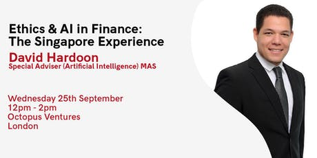 Ethics & AI in Finance: The Singapore Experience tickets
