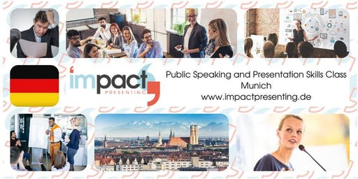 2-Day Munich IMPACT Presenting - Public Speaking and Business Presentations