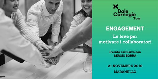 Engagement: le leve per motivare i collaboratori