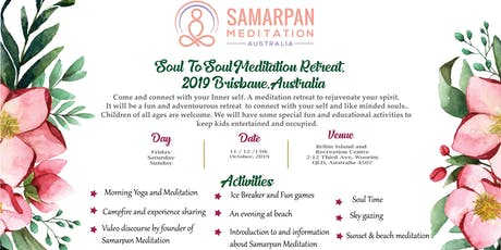 Soul to Soul - A Meditation Retreat, Brisbane tickets