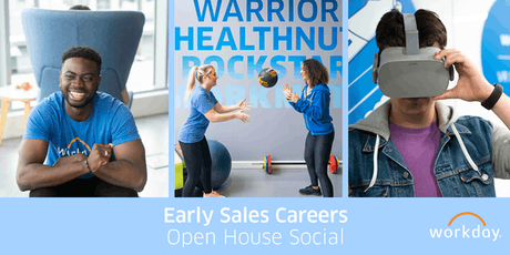 Early Sales Careers - Open House Social tickets