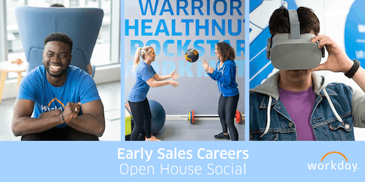 Early Sales Careers - Open House Social