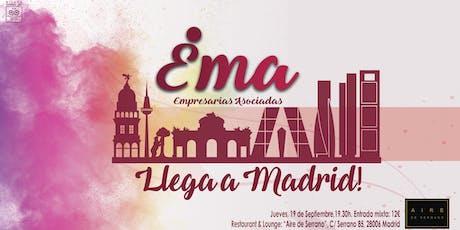 Ema llega a Madrid tickets