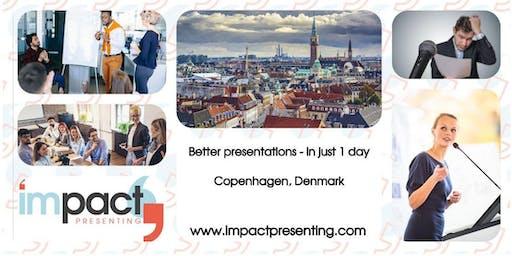 1-Day Copenhagen IMPACT Presenting - Public Speaking