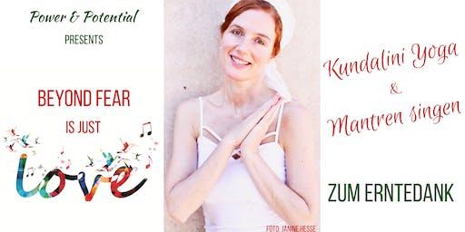Kundalini Yoga & Mantren Singen zum Erntedank mit ätherischen Ölen