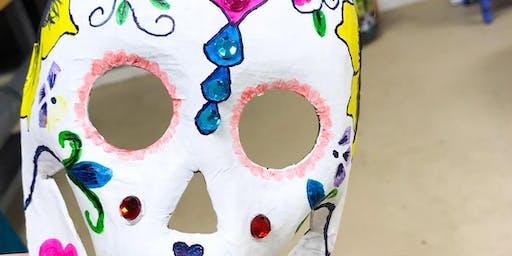 Pre/Teen Night: Halloween Mask Making (age 11-16)