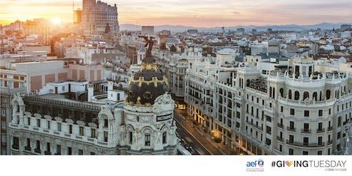 Co-working de #GivingTuesday en Madrid