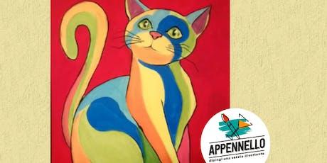 Gatto Pop: aperitivo Appennello a Senigallia biglietti