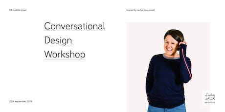 Conversational Design Workshop tickets