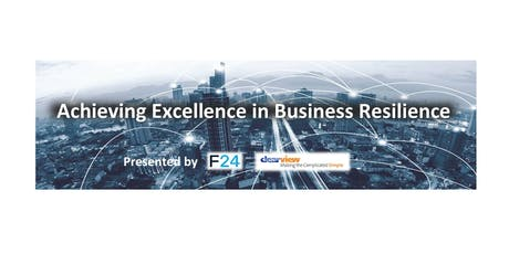 Achieving Excellence in Business Resilience - Abu Dhabi  tickets