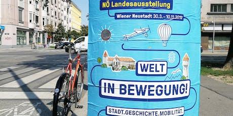"""Bicycle Urbanism Ride zum """"Cloud Mobil"""" auf der NÖ Landesausstellung 2019 Tickets"""