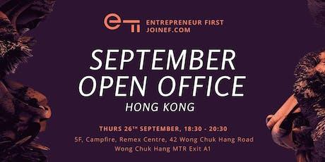 Entrepreneur First HK - September Open Office tickets
