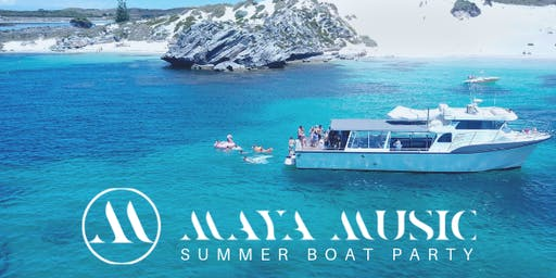 Maya Music Summer Boat Party