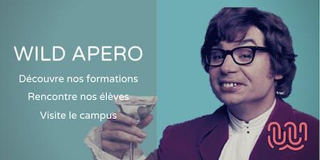 Wild Apero - Présentation école & formations - Bien commencer sa soirée! billets