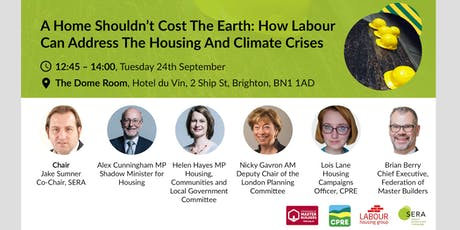 A home shouldn't cost the earth: addressing the housing and climate crises tickets