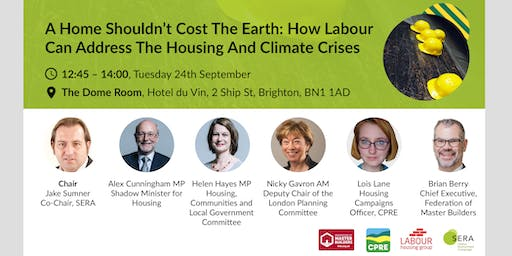 A home shouldn't cost the earth: addressing the housing and climate crises