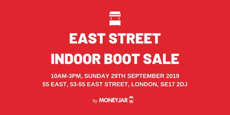 East Street Indoor Boot Sale tickets