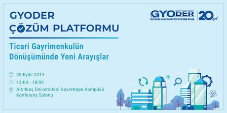 GYODER Çözüm Platformu tickets