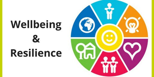 Resilience & Wellbeing | CC - Curzon 285 | 12:00 - 14:00 | Tuesday 5th November