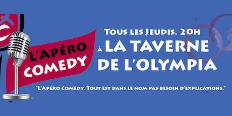 L'apéro Comedy à la Taverne de l'Olympia billets