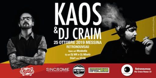 Kaos & Dj Craim live at Rertonouveau