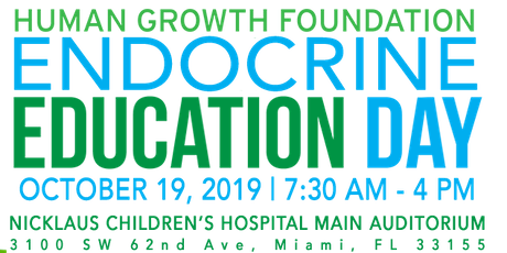 Human Growth Foundation Endocrine Education Day: Miami tickets