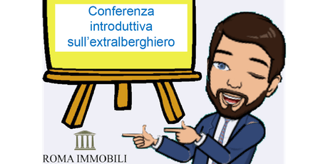 Conferenza introduttiva al mondo extralberghiero e revenue managemenet biglietti