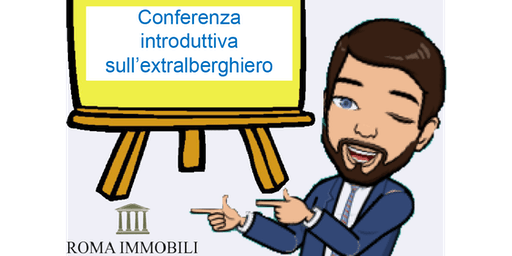Conferenza introduttiva al mondo extralberghiero e revenue managemenet