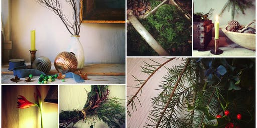 INSPIRED BY NATURE - Winter & Festive styling for your home