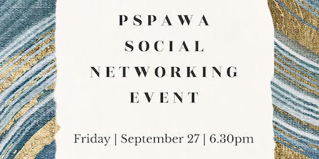 PSPAWA Social Networking Event tickets