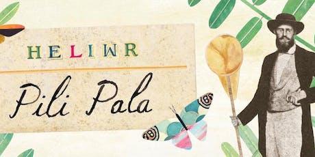 Gweithdy Heliwr Pili Pala tickets