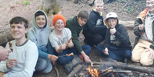 Young Foresters in the Heart of England Forest