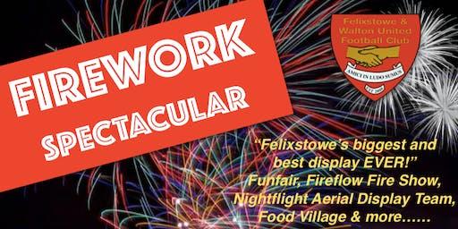 Felixstowe Firework Spectacular 2019