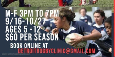 Kids Rugby/soccer camp