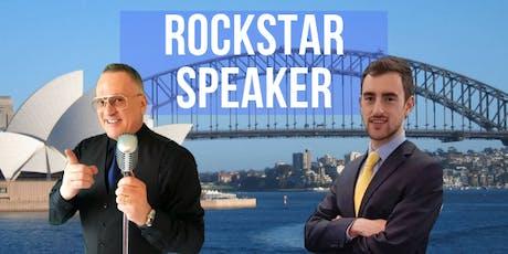 Rockstar Speaker Sydney: Public Speaking & Marketing For Business Owners tickets