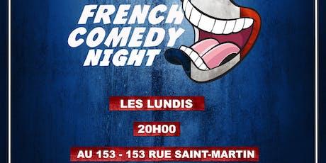 French Comedy Night billets