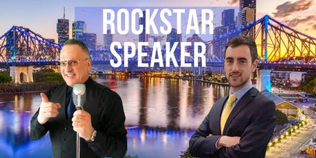 Rockstar Speaker Brisbane: Get Clients With Public Speaking & Marketing tickets