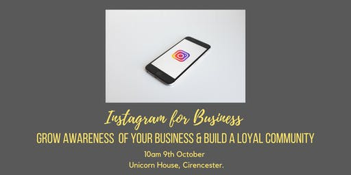 Instagram Training - learn how to increase awareness and followers.
