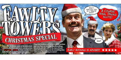 FAWLTY TOWERS CHRISTMAS SPECIAL WITH DISCO