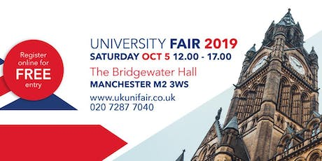 UK University Fair Manchester tickets