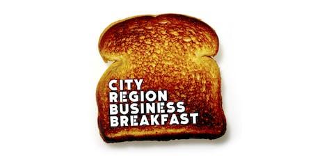 City Region Business Breakfast tickets