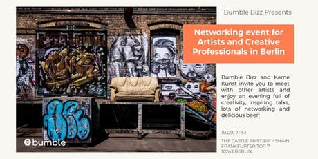 Networking event for Artists and Creative Professionals in Berlin Tickets